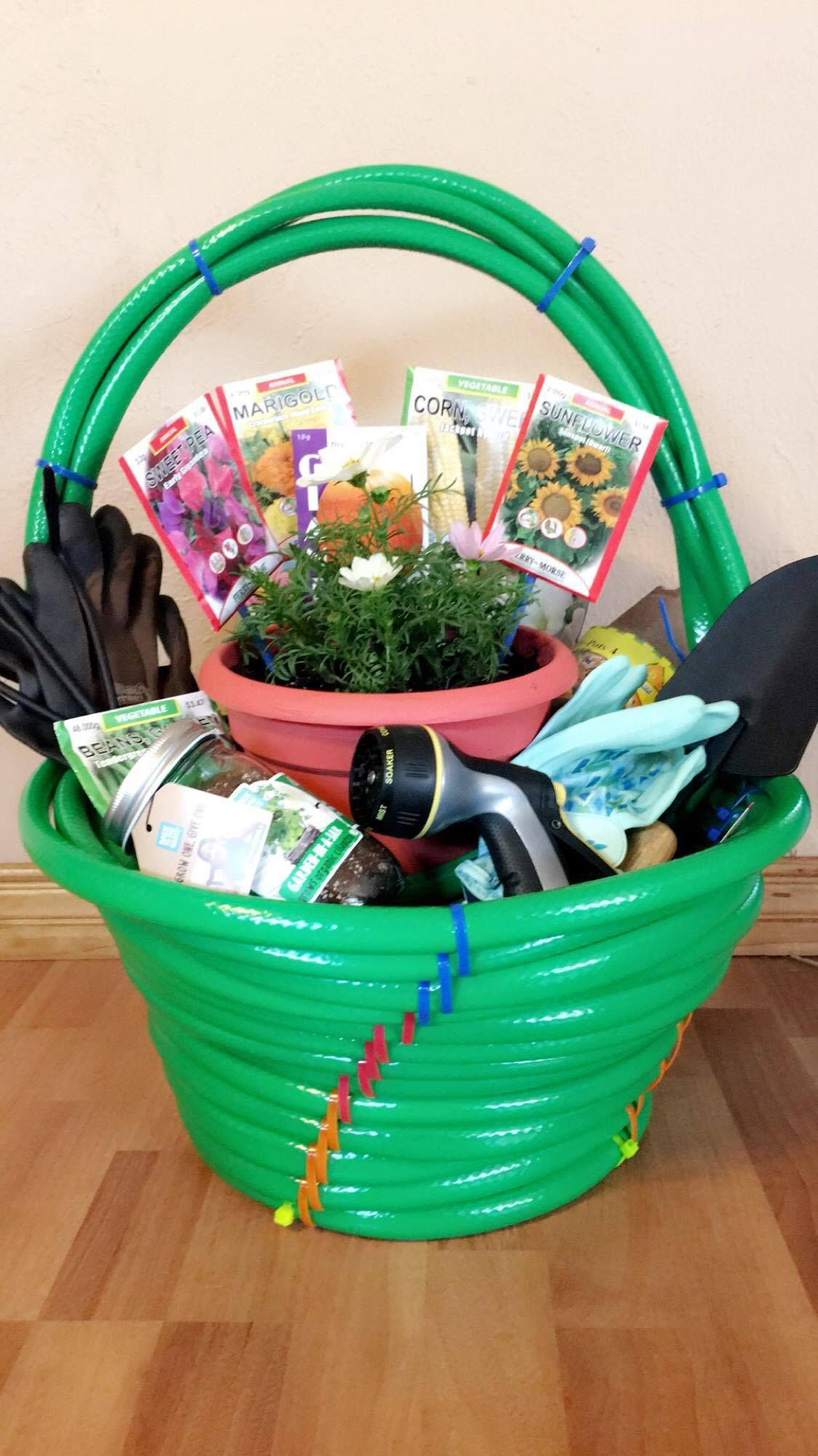 Best ideas about Silent Auction Gift Basket Ideas . Save or Pin Garden themed silent auction basket Now.