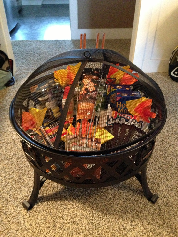 Best ideas about Silent Auction Gift Basket Ideas . Save or Pin Silent auction basket Fire pit roasting sticks and Now.