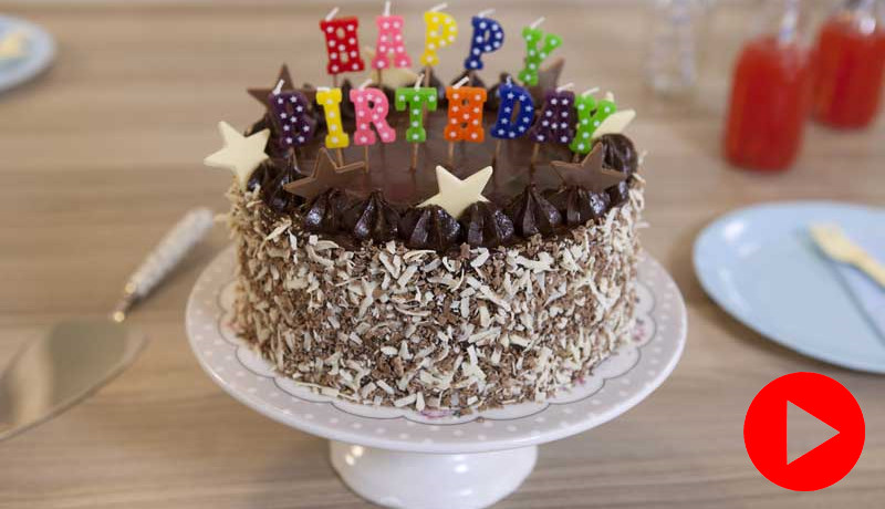 Best ideas about Simple Birthday Cake Recipes . Save or Pin Simple Chocolate Birthday Cake Recipe Now.