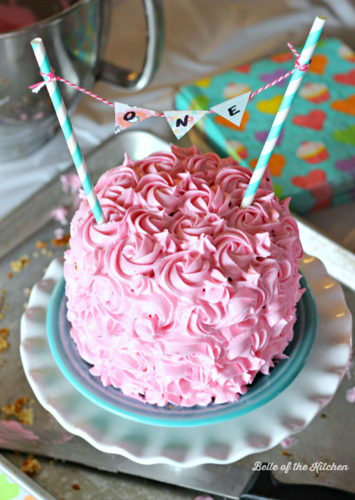 Best ideas about Simple Birthday Cake Recipes . Save or Pin 1st Birthday Smash Cake Tutorial Simple Vanilla Cake Now.