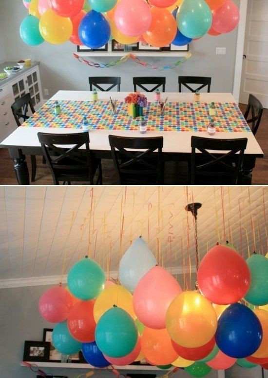 Best ideas about Simple Birthday Decorations . Save or Pin Balloon Decoration Ideas Gifts Now.