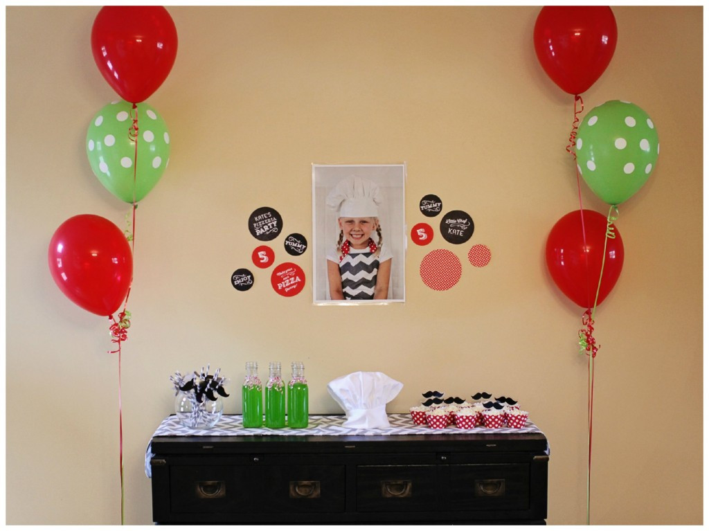 Best ideas about Simple Birthday Decorations . Save or Pin Kids Birthday Party Ideas Pizza Party Now.