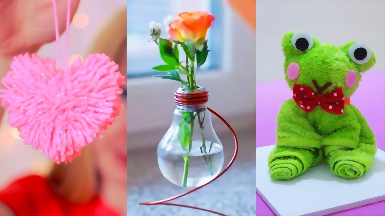 Best ideas about Simple Craft Ideas . Save or Pin DIY ROOM DECOR 15 Easy Crafts Ideas at Home Now.