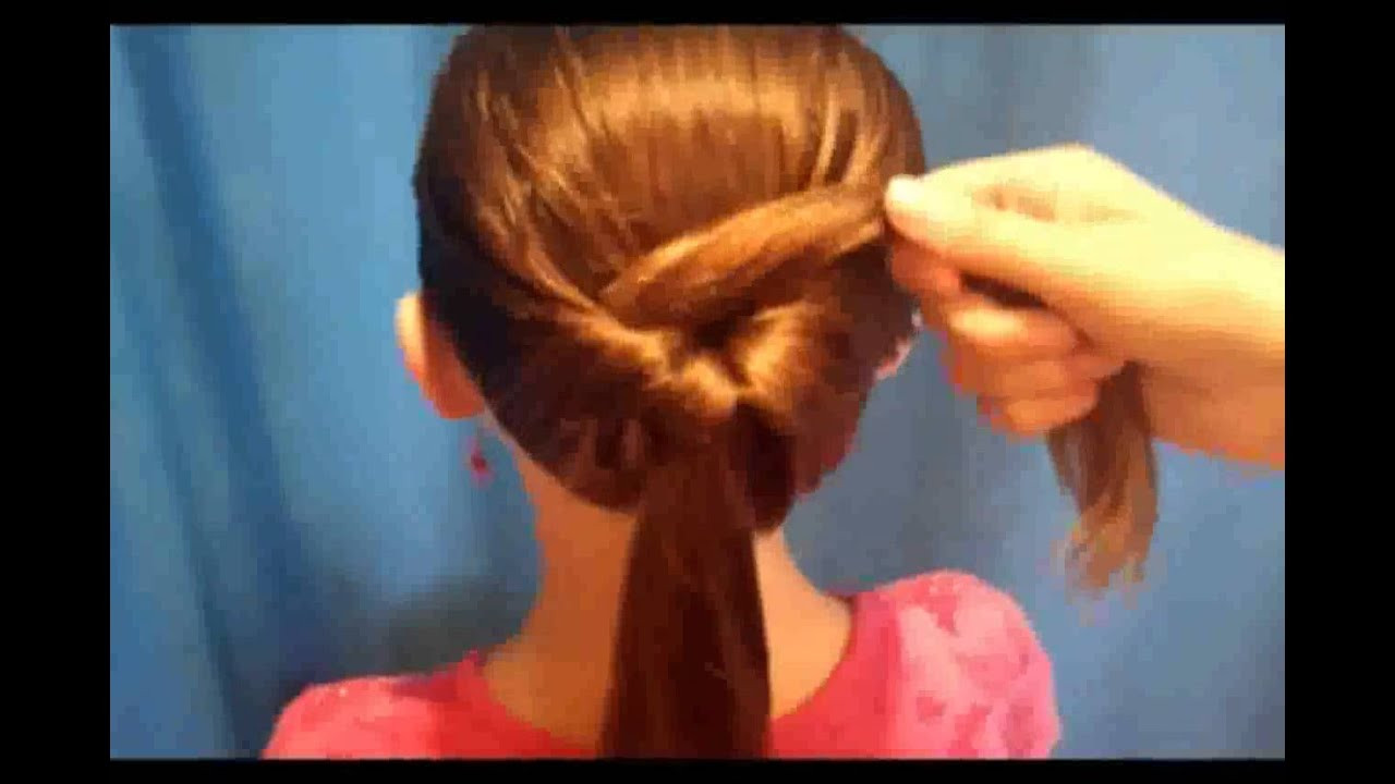 Best ideas about Simple Hairstyle For Kids . Save or Pin Very Easy Hairstyles for Medium Hair Now.