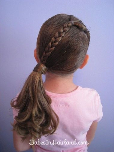 Best ideas about Simple Hairstyle For Kids . Save or Pin 14 Lovely Braided Hairstyles for Kids Pretty Designs Now.
