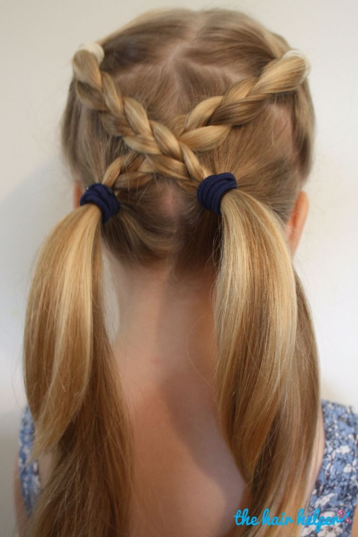 Best ideas about Simple Hairstyle For Kids . Save or Pin 25 Best Ideas about Easy Kid Hairstyles on Pinterest Now.