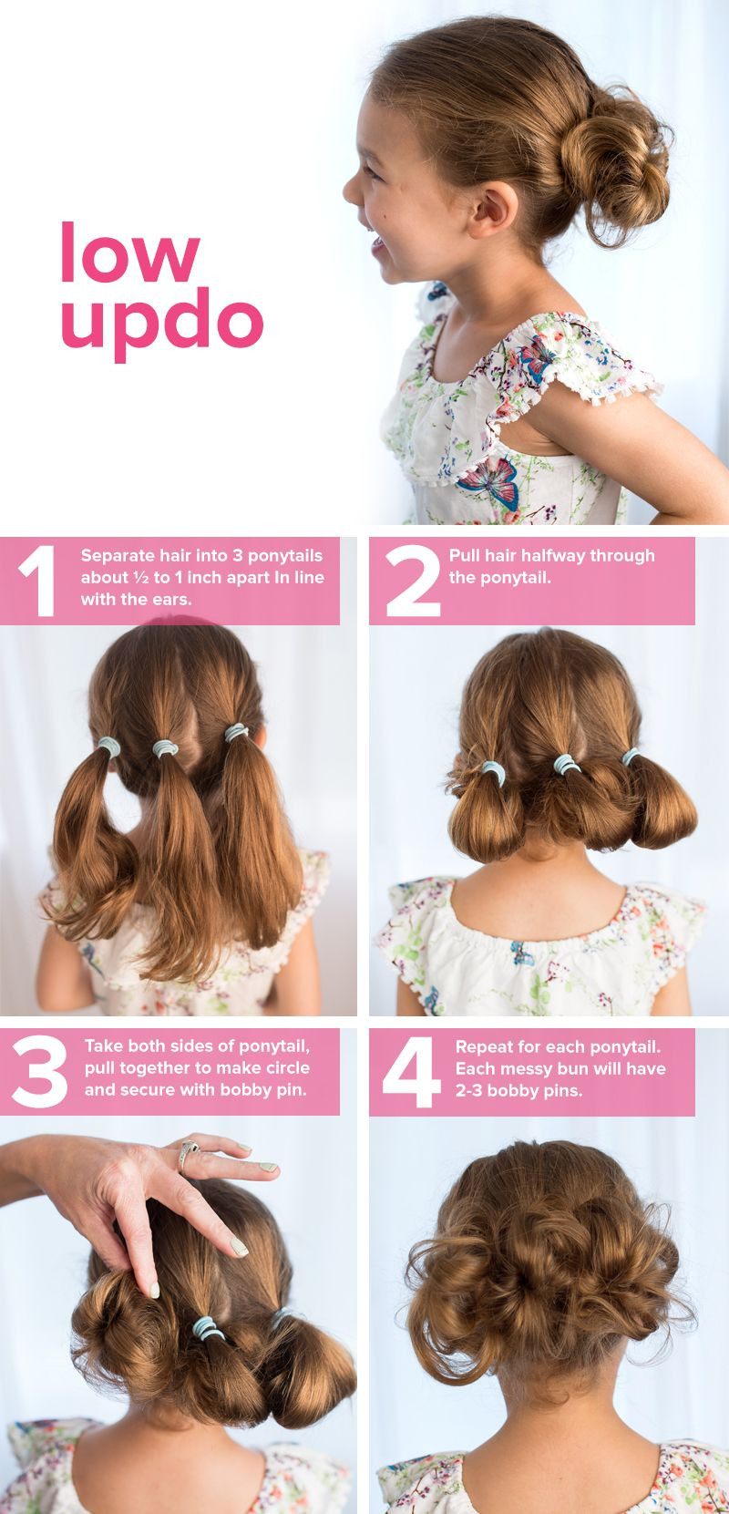 Best ideas about Simple Hairstyle For Kids . Save or Pin 5 fast easy cute hairstyles for girls Now.