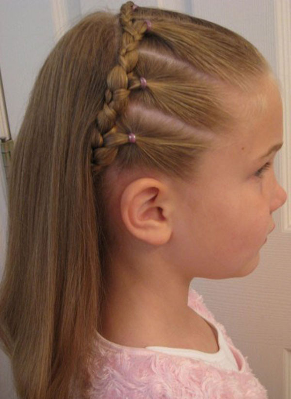 Best ideas about Simple Hairstyle For Kids . Save or Pin Cool Fun & Unique Kids Braid Designs Now.