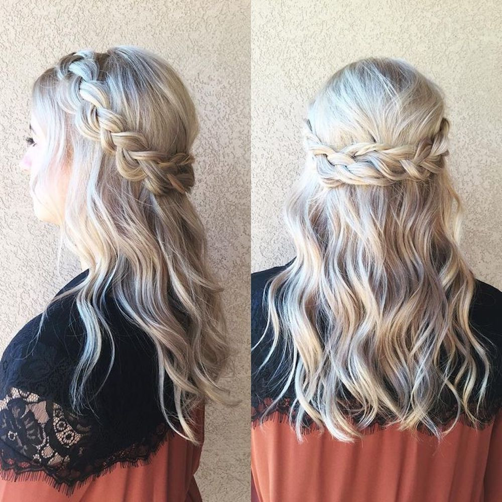 Best ideas about Simple Hairstyles For Prom . Save or Pin Easy Prom Hairstyles That Anyone and Everyone Can Rock to Prom Now.