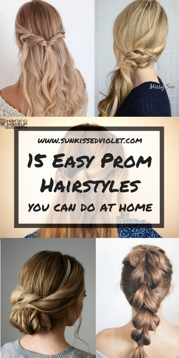 Best ideas about Simple Hairstyles For Prom . Save or Pin 15 Easy Prom Hairstyles for Long Hair You Can DIY At Home Now.