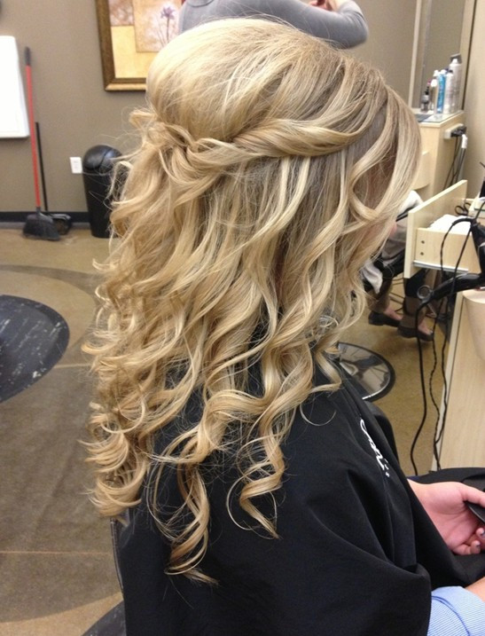 Best ideas about Simple Hairstyles For Prom . Save or Pin 23 Prom Hairstyles Ideas for Long Hair PoPular Haircuts Now.