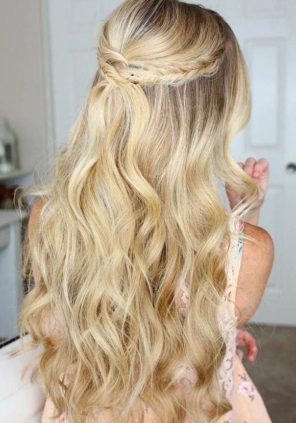 Best ideas about Simple Hairstyles For Prom . Save or Pin 25 Best Ideas about Long Prom Hair on Pinterest Now.