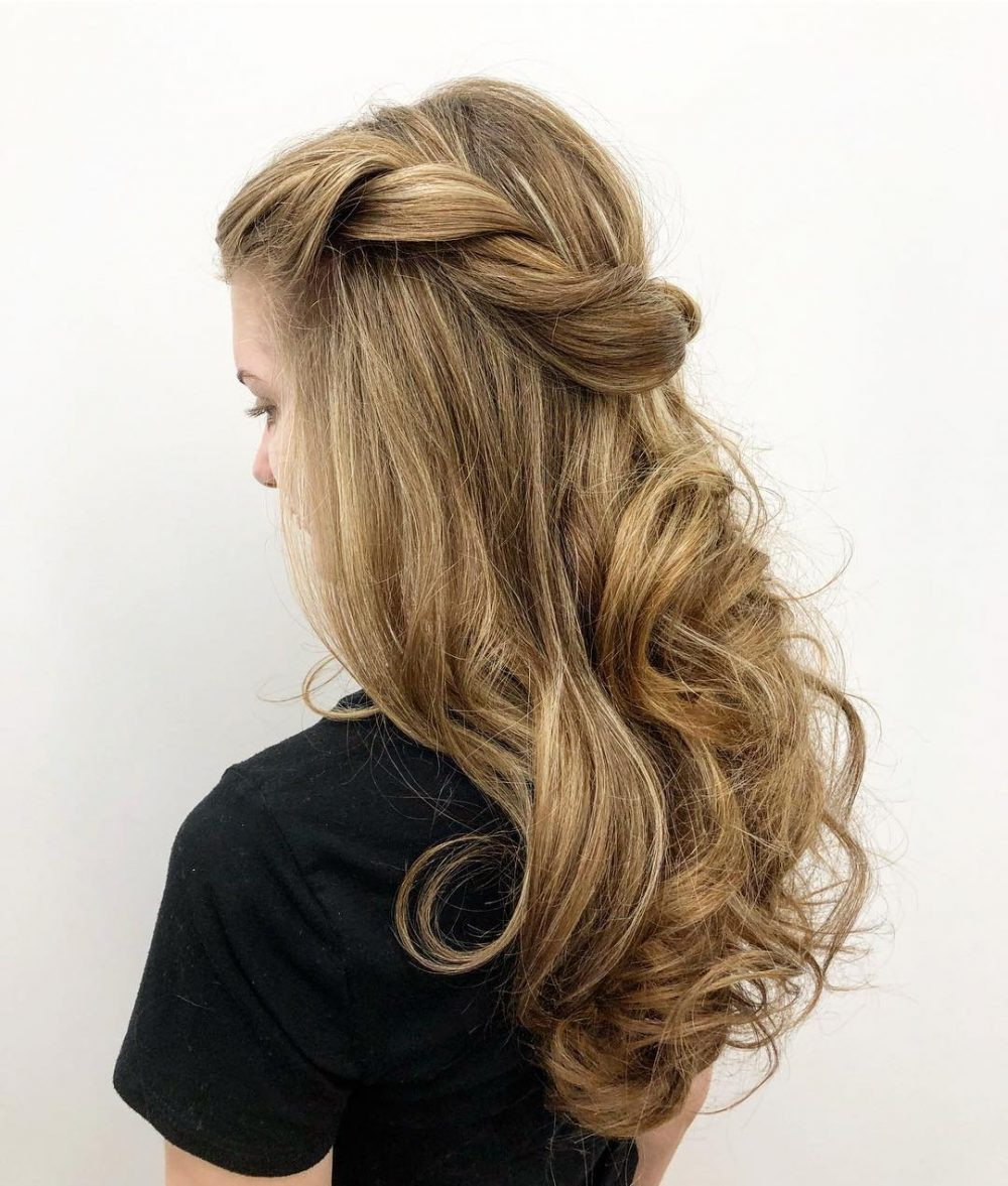 Best ideas about Simple Hairstyles For Prom . Save or Pin 28 Super Easy Prom Hairstyles to Try Now.