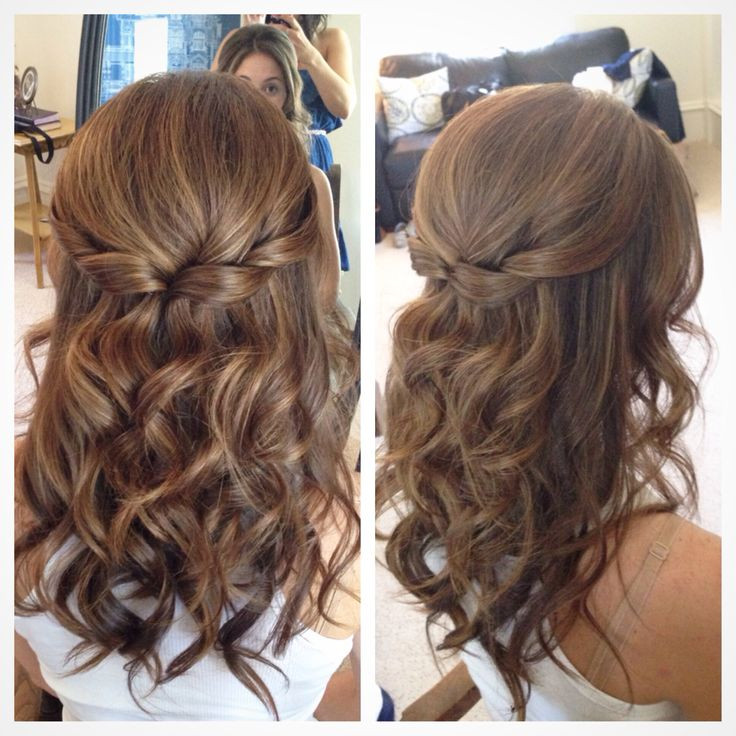 Best ideas about Simple Hairstyles For Prom . Save or Pin 25 Best Ideas about Easy Wedding Hairstyles on Pinterest Now.