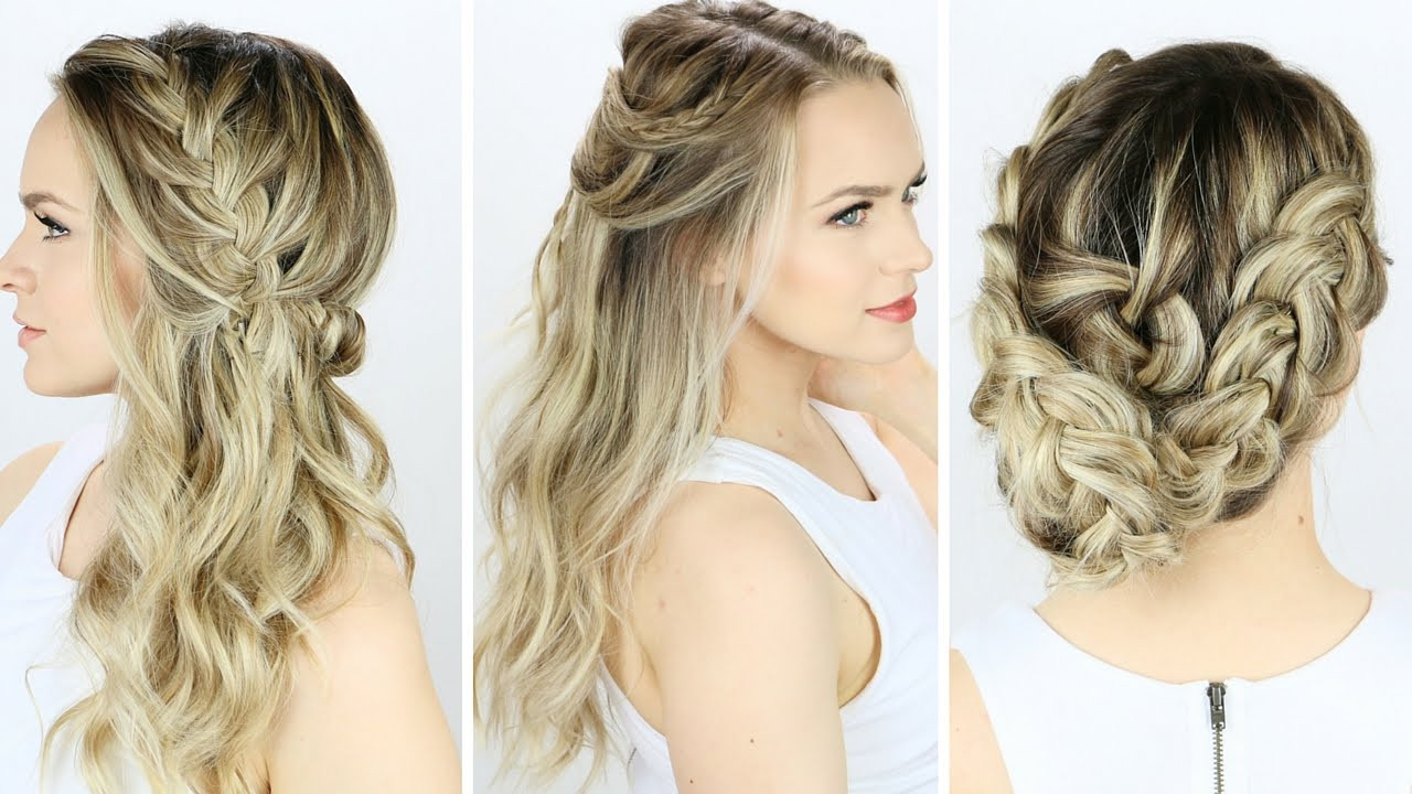 Best ideas about Simple Hairstyles For Prom . Save or Pin 3 Prom or Wedding Hairstyles You Can Do Yourself Now.