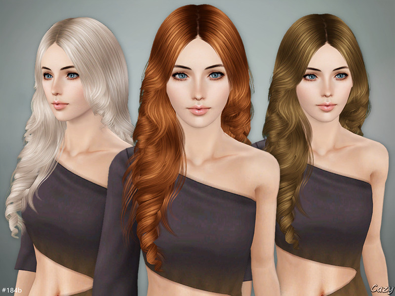 Best ideas about Sims 3 Female Hairstyles . Save or Pin Cazy s Lisa Hairstyle B Sims 3 Now.