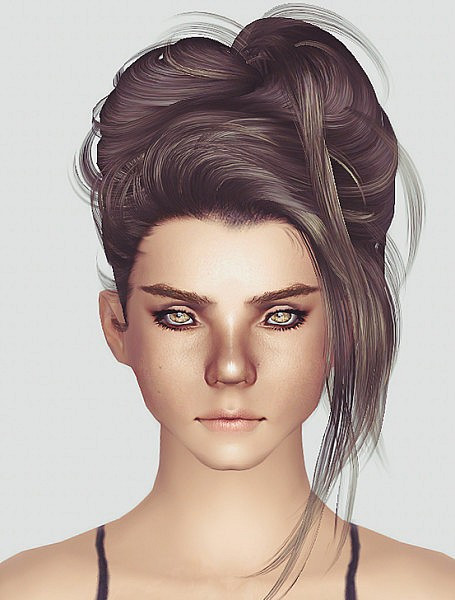 Best ideas about Sims 3 Female Hairstyles . Save or Pin The Sims 3 NewSea s Crazy Love hairstyle retextured by Momo Now.