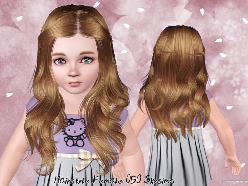 Best ideas about Sims 3 Female Hairstyles . Save or Pin Skysims Hair Toddler 050 Now.