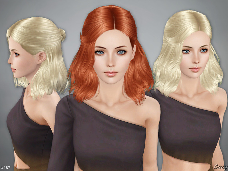 Best ideas about Sims 3 Female Hairstyles . Save or Pin Cazy s Haley Hairstyle Sims 3 Now.