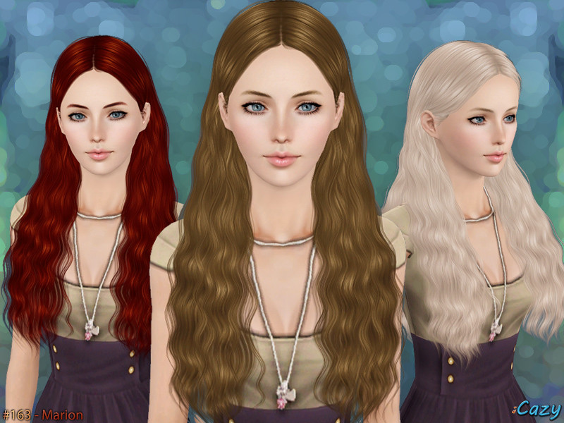 Best ideas about Sims 3 Female Hairstyles . Save or Pin Cazy s Marion Hairstyle Set Now.