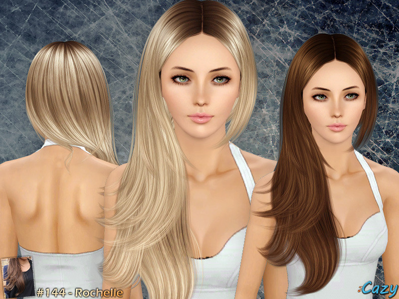 Best ideas about Sims 3 Female Hairstyles . Save or Pin Cazy s Rochelle Hairstyle Set Now.