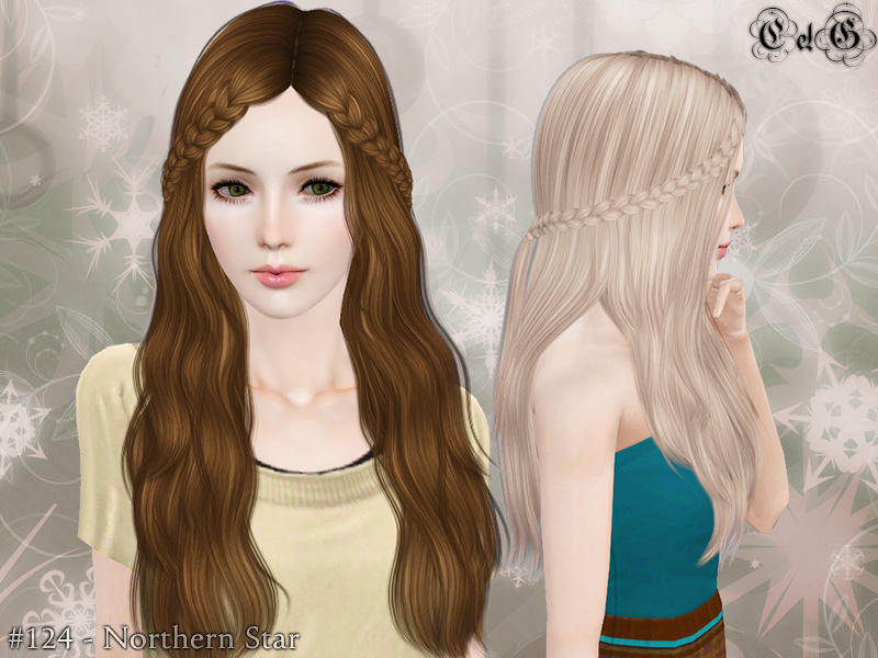 Best ideas about Sims 3 Female Hairstyles . Save or Pin Cazy s Northern Star Hairstyle Set Now.