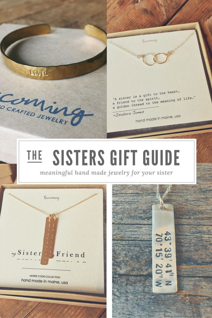 Best ideas about Sister Birthday Gift Ideas . Save or Pin Best 25 Sister ts ideas on Pinterest Now.