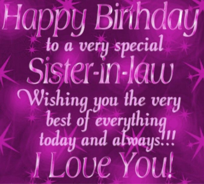 Best ideas about Sister In Law Birthday Quotes . Save or Pin 1000 ideas about Happy Birthday Sister on Pinterest Now.