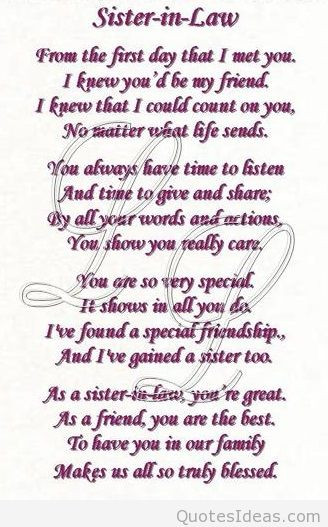 Best ideas about Sister In Law Birthday Quotes . Save or Pin Halloween Happy Sister In Law Birthday Quotes QuotesGram Now.