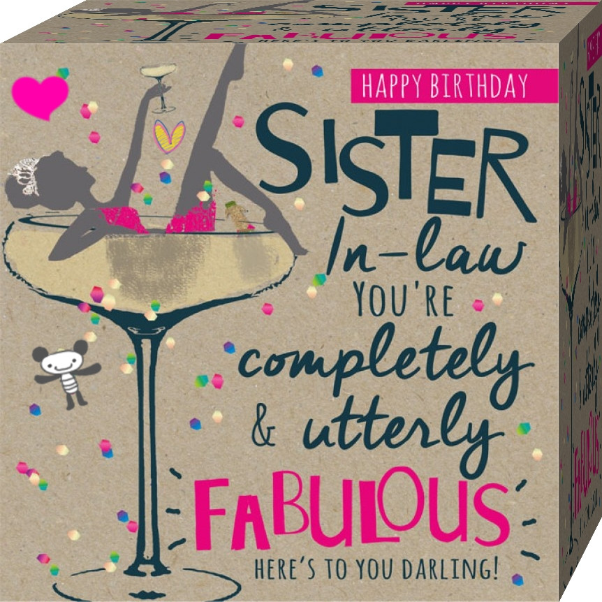 Best ideas about Sister In Law Birthday Wish . Save or Pin Funny Happy Birthday Quotes For My Sister In Law Now.