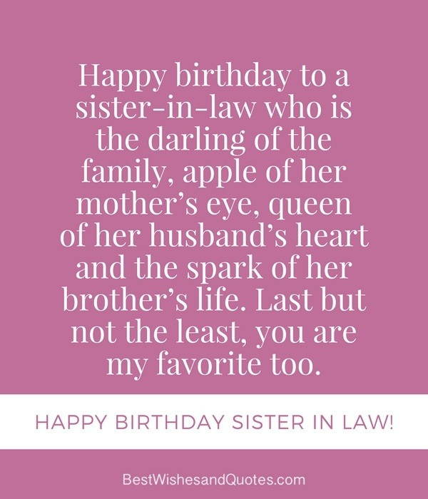 Best ideas about Sister In Law Birthday Wish . Save or Pin What is the best birthday wish ever Quora Now.