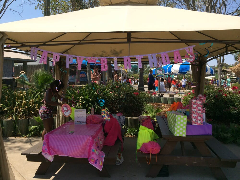 Best ideas about Six Flags Birthday Party . Save or Pin Birthday party area Parents can decorate the tents Now.