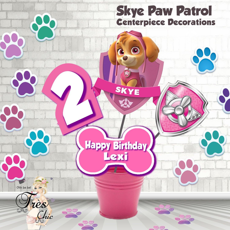 Best ideas about Skye Paw Patrol Birthday Decorations . Save or Pin Skye Paw Patrol Birthday DecorationsSkye Now.