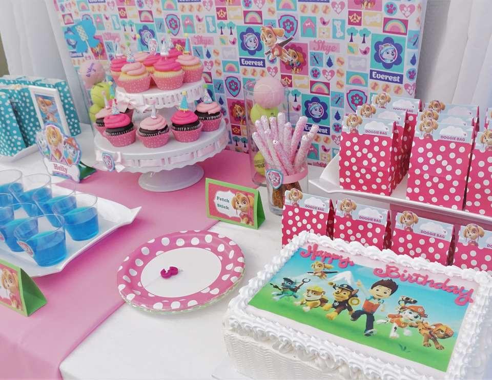 "Best ideas about Skye Paw Patrol Birthday Decorations . Save or Pin Paw Patrol Birthday ""Skye Paw Patrol Party"" Now."