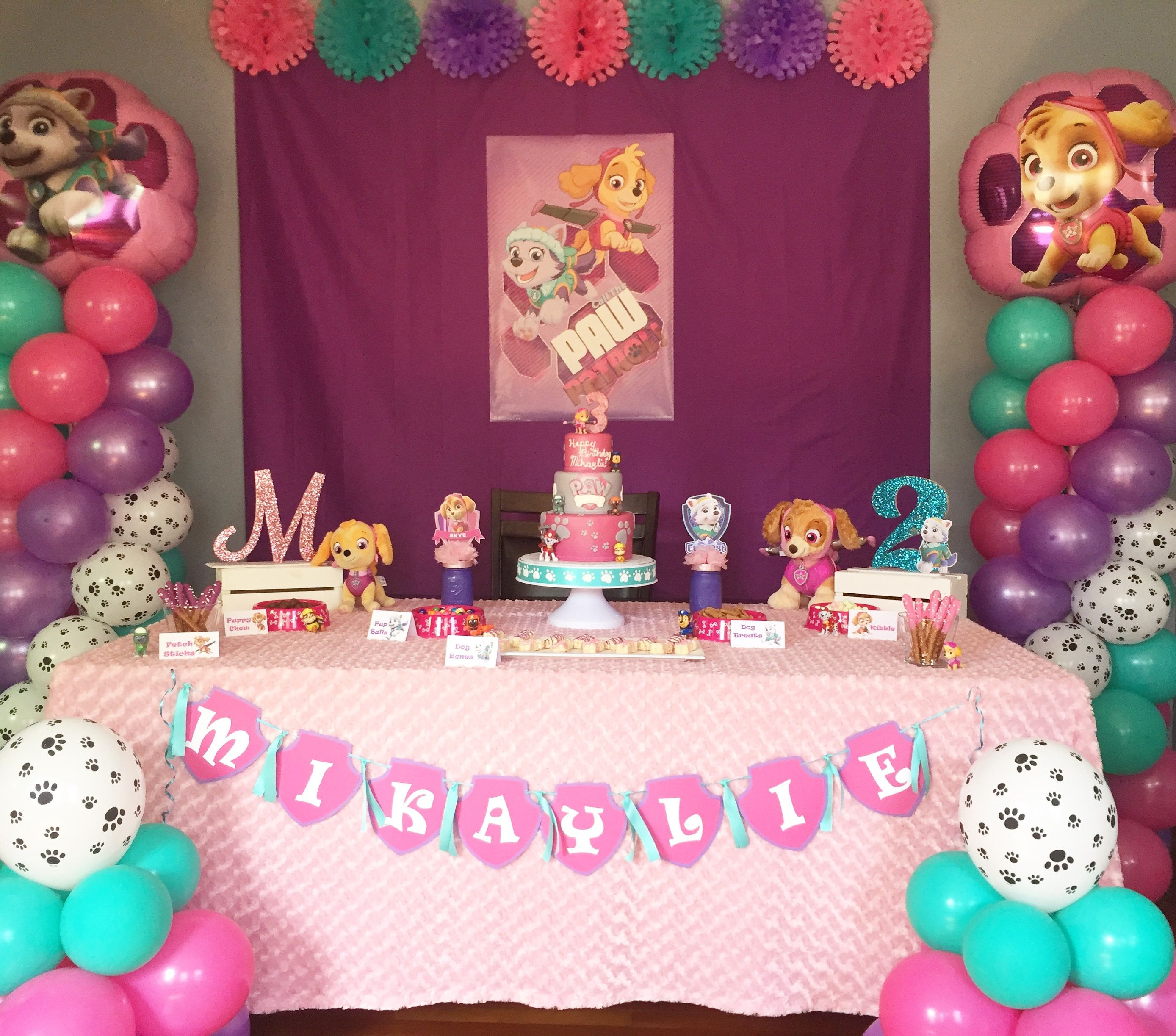 Best ideas about Skye Paw Patrol Birthday Decorations . Save or Pin Decorations Paw Patrol Birthday Decorations For Kids Room Now.
