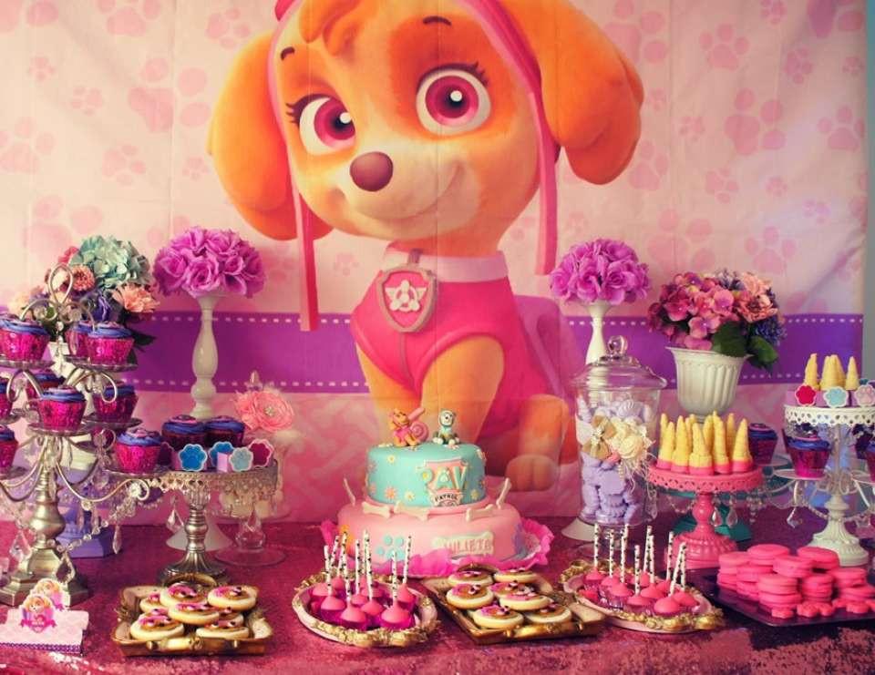 """Best ideas about Skye Paw Patrol Birthday Decorations . Save or Pin Skye Paw Patrol Birthday """"Skye Paw Patrol birthday party Now."""