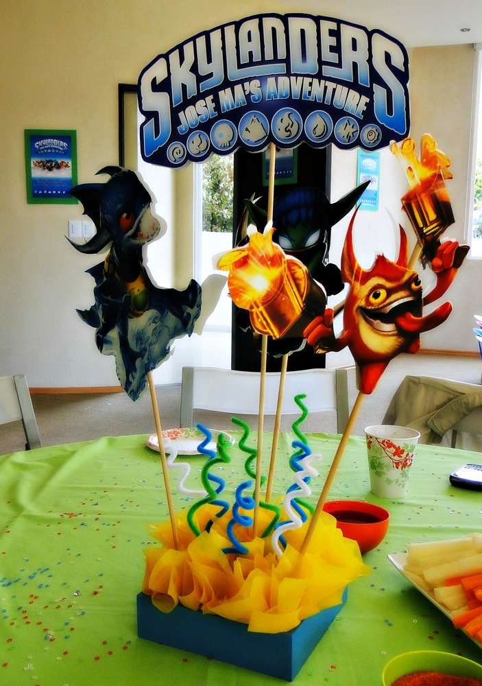 Best ideas about Skylanders Birthday Party . Save or Pin Skylanders Birthday Party Ideas 9 of 23 Now.