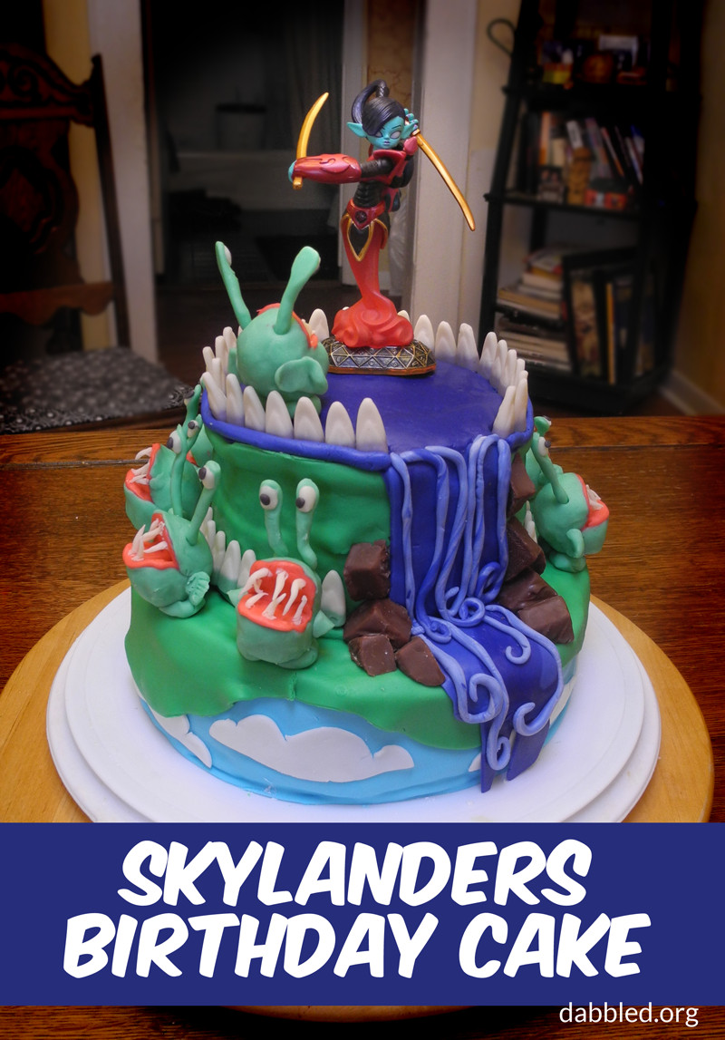 Best ideas about Skylanders Birthday Party . Save or Pin Highlights from the Skylander's Birthday Party the Cake Now.