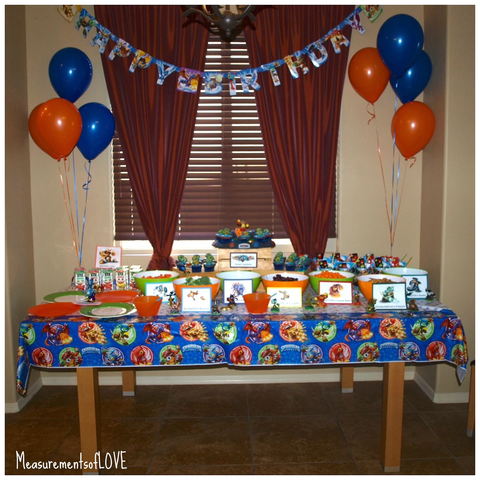 Best ideas about Skylanders Birthday Party . Save or Pin Measurements of Merriment Skylanders Birthday Party Now.