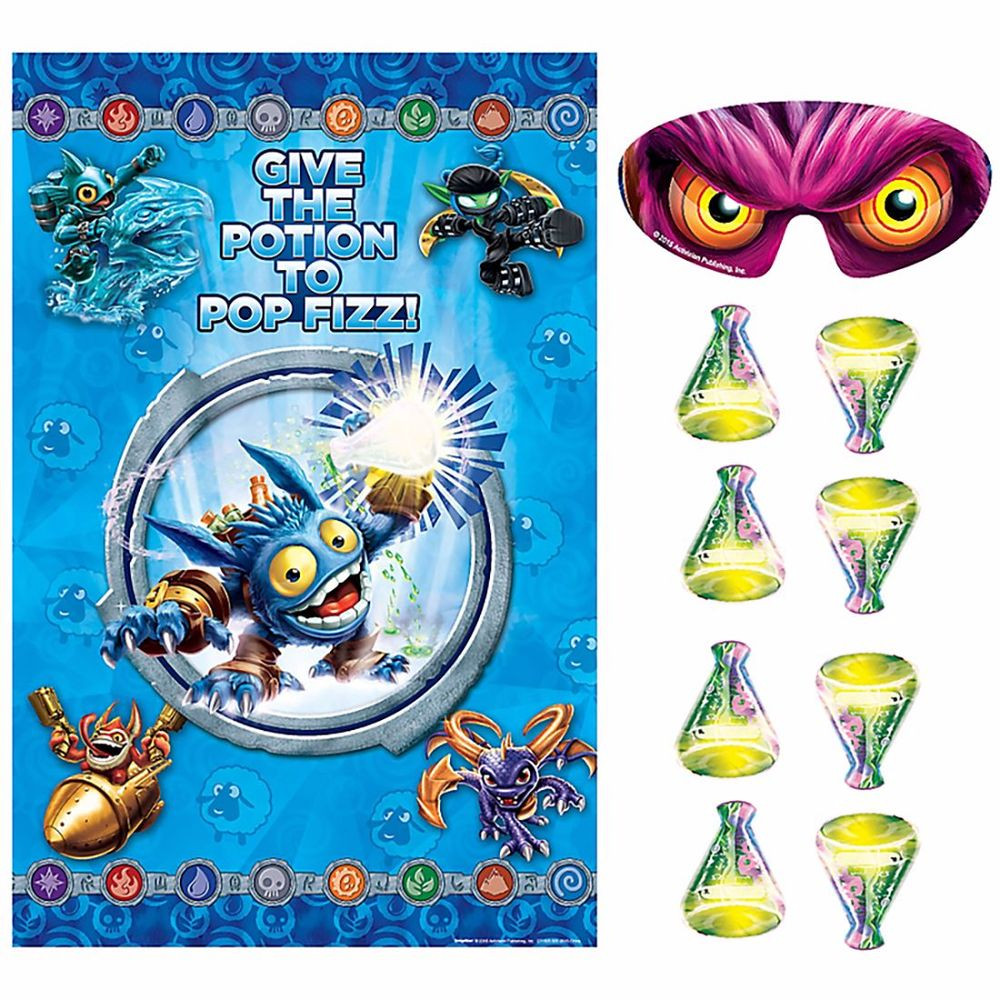 Best ideas about Skylanders Birthday Party . Save or Pin Skylanders Party Game POSTER HAPPY BIRTHDAY Party Supplies Now.