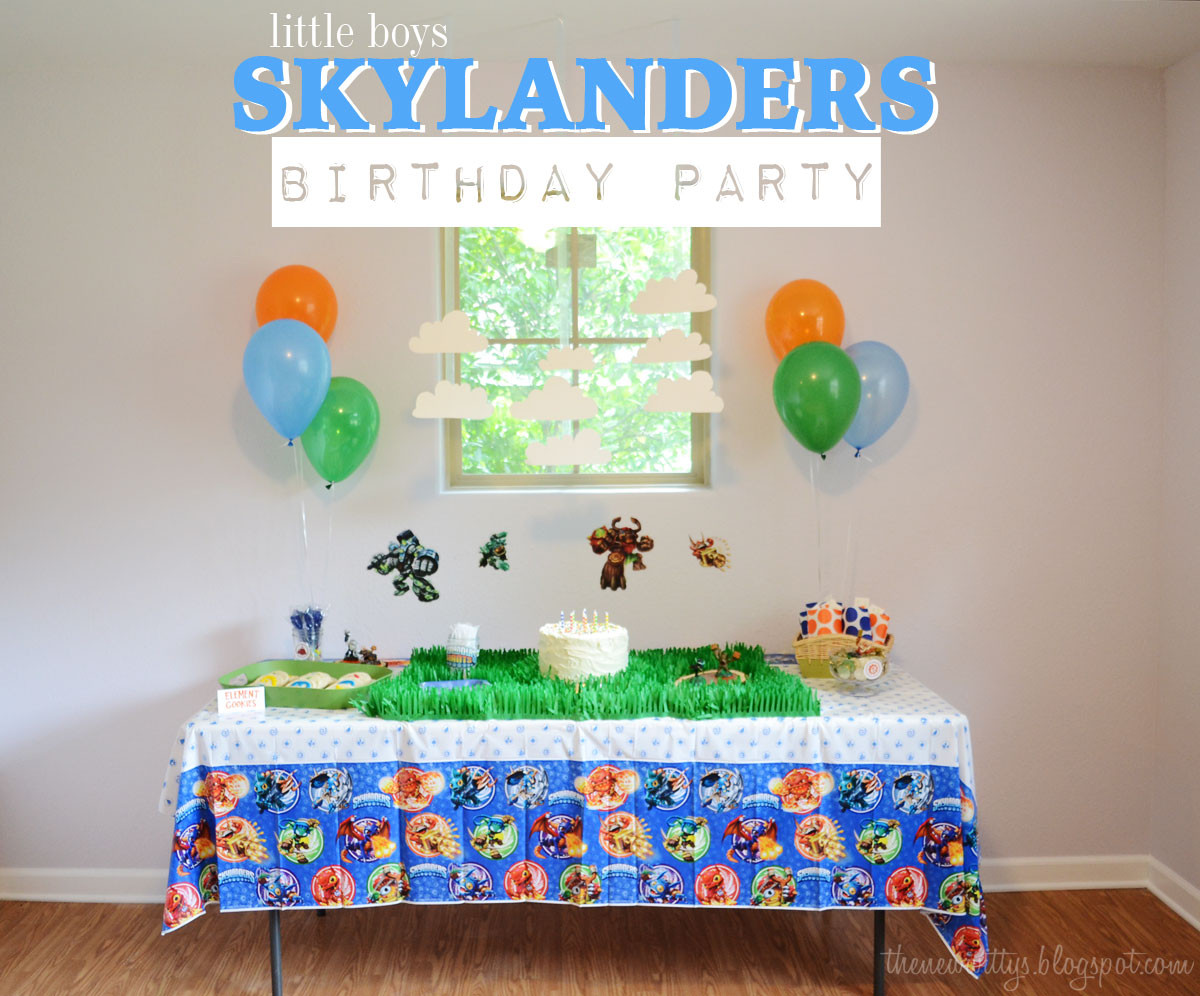 "Best ideas about Skylanders Birthday Party . Save or Pin The New Wittys a little boys ""Skylanders"" birthday party Now."