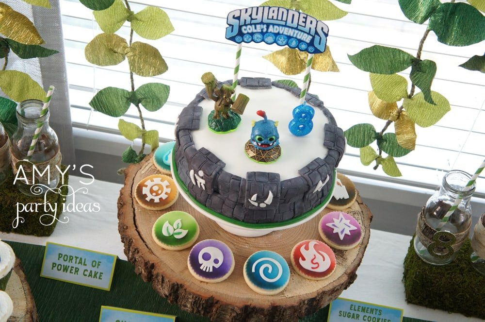 Best ideas about Skylanders Birthday Party . Save or Pin Skylanders Party Ideas Now.