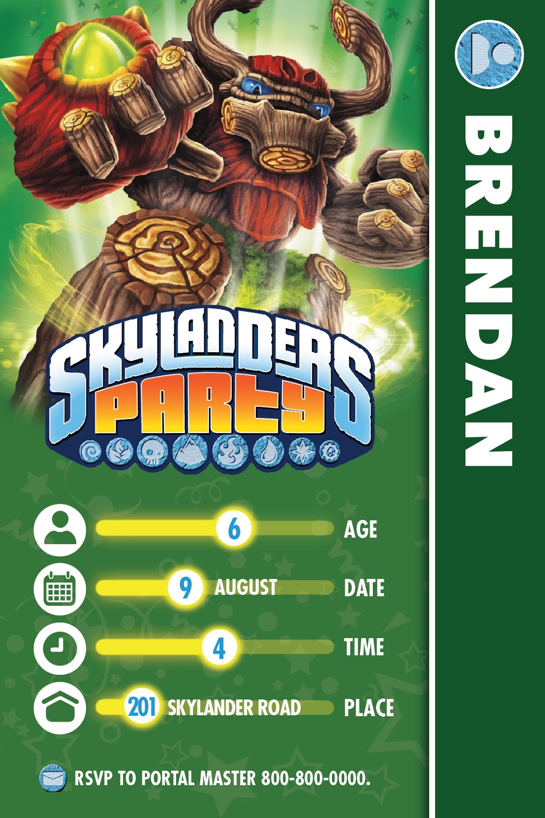 Best ideas about Skylanders Birthday Party . Save or Pin The Bubbly Hostess Skylanders Birthday Party Now.