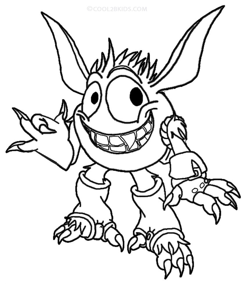 Best ideas about Skylanders Giants Printable Coloring Pages . Save or Pin Printable Skylander Giants Coloring Pages For Kids Now.