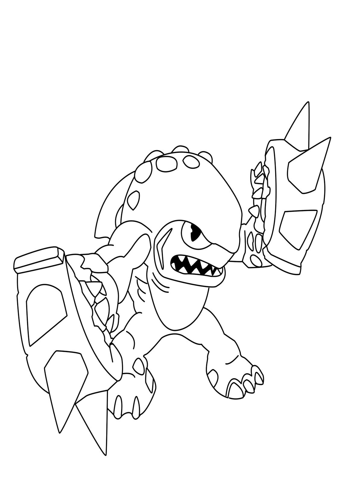Best ideas about Skylanders Giants Printable Coloring Pages . Save or Pin Skylander s Coloring Pages on Pinterest Now.
