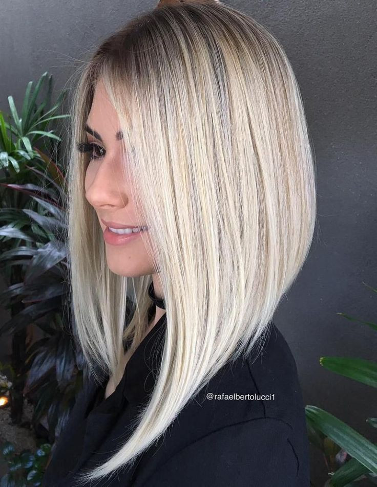 Best ideas about Slanted Bob Hair Cut . Save or Pin 10 best ideas about Long Angled Bobs on Pinterest Now.