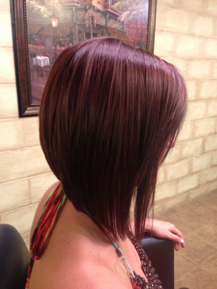Best ideas about Slanted Bob Hair Cut . Save or Pin 16 Angled Bob Hairstyles You Should Not Miss Hairstyles Now.