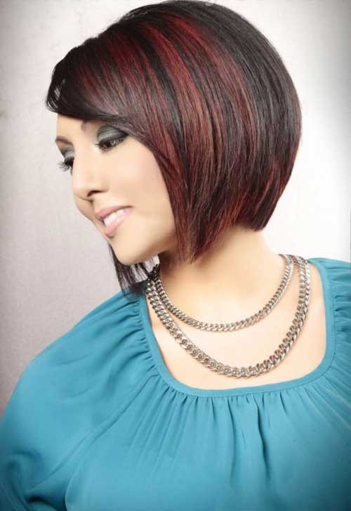 Best ideas about Slanted Bob Hair Cut . Save or Pin Angled Bobs with Bangs Now.
