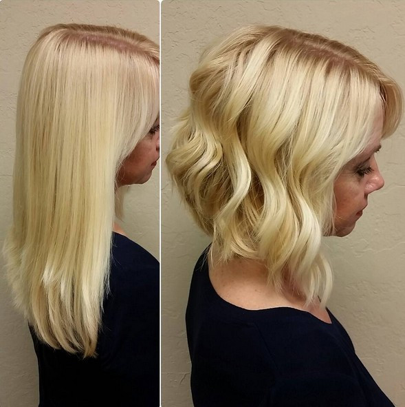 Best ideas about Slanted Bob Hair Cut . Save or Pin 18 Hot Angled Bob Hairstyles Shoulder Length Hair Short Now.