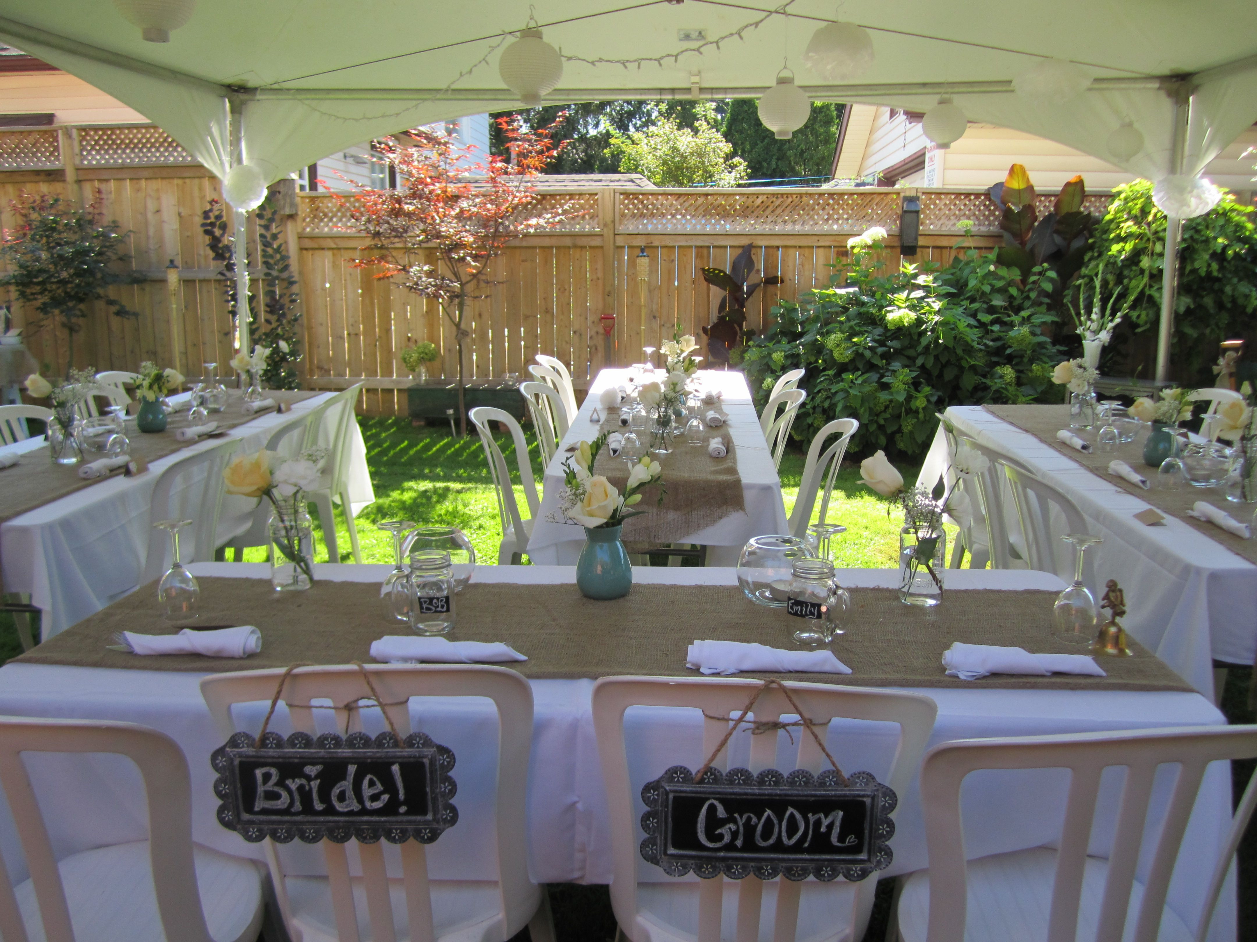 Best ideas about Small Backyard Wedding . Save or Pin Pinterest Discover and save creative ideas Now.